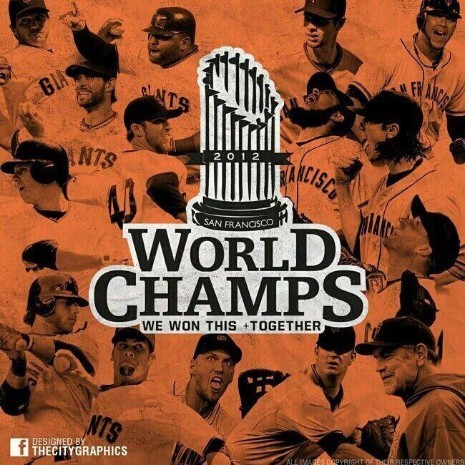 your 2012 world champions